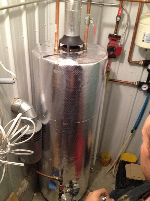 Water Tank Insulation : Insulate your hot water tank and save